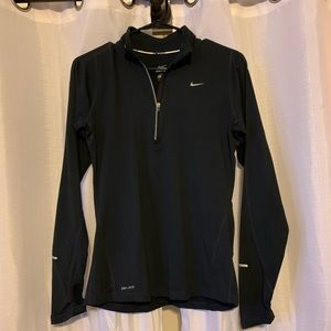 Black Nike quarter zip size small